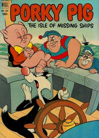 Cover Thumbnail for Four Color (Dell, 1942 series) #385 - Porky Pig in The Isle of Missing Ships