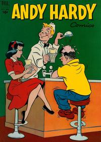 Cover Thumbnail for Four Color (Dell, 1942 series) #389 - Andy Hardy Comics