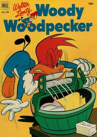 Cover Thumbnail for Four Color (Dell, 1942 series) #390 - Walter Lantz Woody Woodpecker