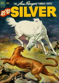 Cover Thumbnail for Four Color (Dell, 1942 series) #392 - The Lone Ranger's Famous Horse Hi-Yo Silver