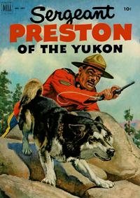 Cover Thumbnail for Four Color (Dell, 1942 series) #397 - Sergeant Preston of the Yukon