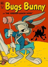 Cover Thumbnail for Four Color (Dell, 1942 series) #407 - Bugs Bunny, Foreign Legion Hare