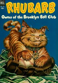 Cover Thumbnail for Four Color (Dell, 1942 series) #423 - Rhubarb, Owner of the Brooklyn Ball Club
