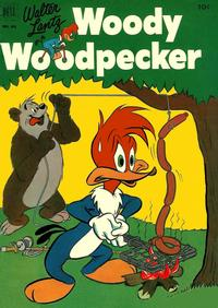 Cover Thumbnail for Four Color (Dell, 1942 series) #431 - Walter Lantz Woody Woodpecker