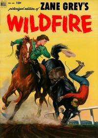 Cover Thumbnail for Four Color (Dell, 1942 series) #433 - Zane Grey's Wildfire