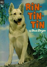 Cover Thumbnail for Four Color (Dell, 1942 series) #434 - Rin-Tin-Tin in Dark Danger