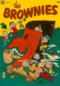 Cover Thumbnail for Four Color (Dell, 1942 series) #436 - The Brownies