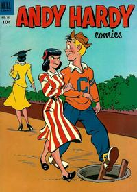 Cover for Four Color (Dell, 1942 series) #447 - Andy Hardy Comics