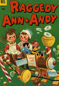 Cover for Four Color (Dell, 1942 series) #452 - Raggedy Ann & Andy