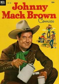 Cover Thumbnail for Four Color (Dell, 1942 series) #455 - Johnny Mack Brown Comics