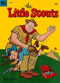 Cover for Four Color (Dell, 1942 series) #462 - Little Scouts