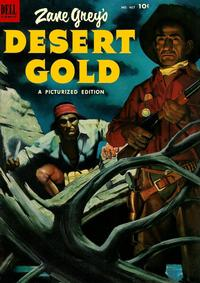 Cover Thumbnail for Four Color (Dell, 1942 series) #467 - Zane Grey's Desert Gold
