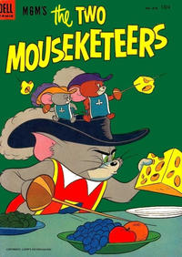Cover Thumbnail for Four Color (Dell, 1942 series) #475 - M.G.M.'s the Two Mouseketeers