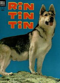 Cover Thumbnail for Four Color (Dell, 1942 series) #476 - Rin Tin Tin