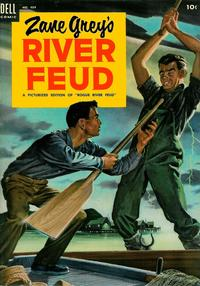 Cover for Four Color (Dell, 1942 series) #484 - Zane Grey's River Feud