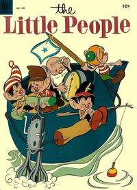 Cover Thumbnail for Four Color (Dell, 1942 series) #485 - The Little People