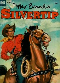 Cover Thumbnail for Four Color (Dell, 1942 series) #491 - Max Brand's Silvertip