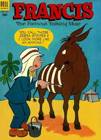 Cover Thumbnail for Four Color (Dell, 1942 series) #501 - Francis, the Famous Talking Mule