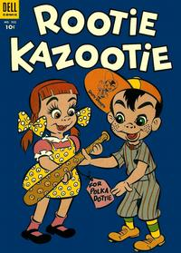 Cover for Four Color (Dell, 1942 series) #502 - Rootie Kazootie