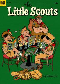 Cover Thumbnail for Four Color (Dell, 1942 series) #506 - Little Scouts