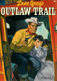 Cover Thumbnail for Four Color (Dell, 1942 series) #511 - Zane Grey's Outlaw Trail