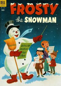 Cover Thumbnail for Four Color (Dell, 1942 series) #514 - Frosty the Snowman
