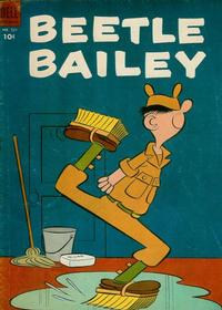 Cover Thumbnail for Four Color (Dell, 1942 series) #521 - Beetle Bailey
