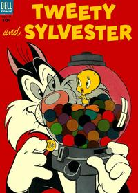 Cover Thumbnail for Four Color (Dell, 1942 series) #524 - Tweety and Sylvester
