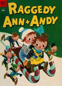 Cover Thumbnail for Four Color (Dell, 1942 series) #533 - Raggedy Ann & Andy