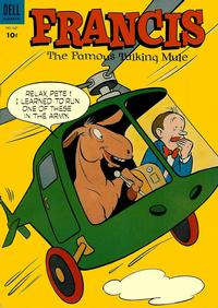 Cover Thumbnail for Four Color (Dell, 1942 series) #547 - Francis, The Famous Talking Mule