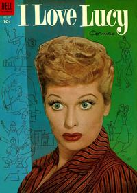 Cover Thumbnail for Four Color (Dell, 1942 series) #559 - I Love Lucy