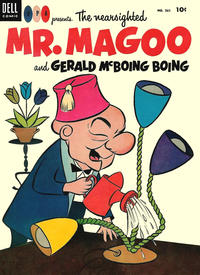Cover Thumbnail for Four Color (Dell, 1942 series) #561 - The Nearsighted Mr. Magoo and Gerald McBoing Boing