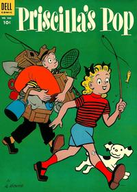 Cover for Four Color (Dell, 1942 series) #569 - Priscilla's Pop