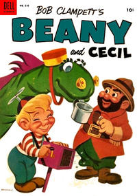 Cover Thumbnail for Four Color (Dell, 1942 series) #570 - Bob Clampett's Beany and Cecil