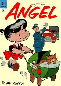 Cover Thumbnail for Four Color (Dell, 1942 series) #576 - Angel