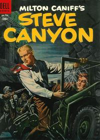 Cover Thumbnail for Four Color (Dell, 1942 series) #578 - Milton Caniff's Steve Canyon