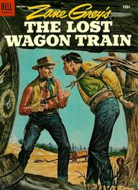 Cover Thumbnail for Four Color (Dell, 1942 series) #583 - Zane Grey's The Lost Wagon Train