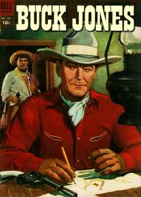 Cover Thumbnail for Four Color (Dell, 1942 series) #589 - Buck Jones