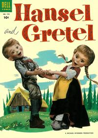 Cover Thumbnail for Four Color (Dell, 1942 series) #590 - Hansel and Gretel