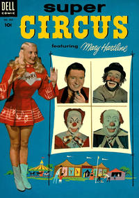 Cover Thumbnail for Four Color (Dell, 1942 series) #592 - Super Circus featuring Mary Hartline