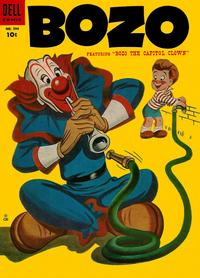 Cover Thumbnail for Four Color (Dell, 1942 series) #594 - Bozo, featuring Bozo the Capitol Clown