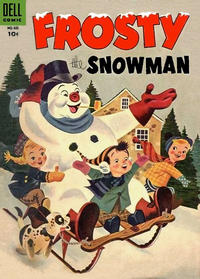 Cover Thumbnail for Four Color (Dell, 1942 series) #601 - Frosty the Snowman