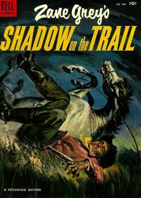 Cover Thumbnail for Four Color (Dell, 1942 series) #604 - Zane Grey's Shadow on the Trail