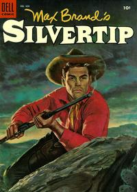 Cover Thumbnail for Four Color (Dell, 1942 series) #608 - Max Brand's Silvertip