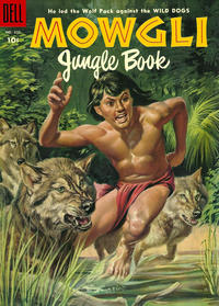 Cover Thumbnail for Four Color (Dell, 1942 series) #620 - Rudyard Kipling's Mowgli Jungle Book