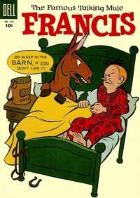 Cover Thumbnail for Four Color (Dell, 1942 series) #621 - Francis The Famous Talking Mule