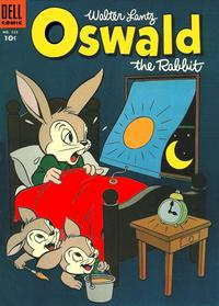 Cover Thumbnail for Four Color (Dell, 1942 series) #623 - Walter Lantz Oswald the Rabbit