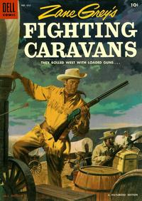 Cover for Four Color (Dell, 1942 series) #632 - Zane Grey's Fighting Caravans