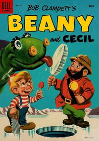 Cover Thumbnail for Four Color (Dell, 1942 series) #635 - Bob Clampett's Beany and Cecil