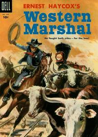 Cover Thumbnail for Four Color (Dell, 1942 series) #640 - Ernest Haycox's Western Marshal